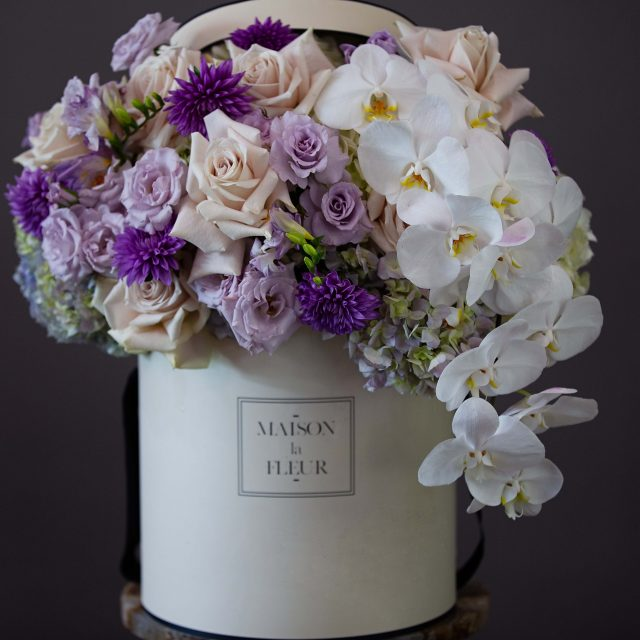 Mid-summer Nights Dream - Beautiful Orchid, Creme Rose, Dhalias